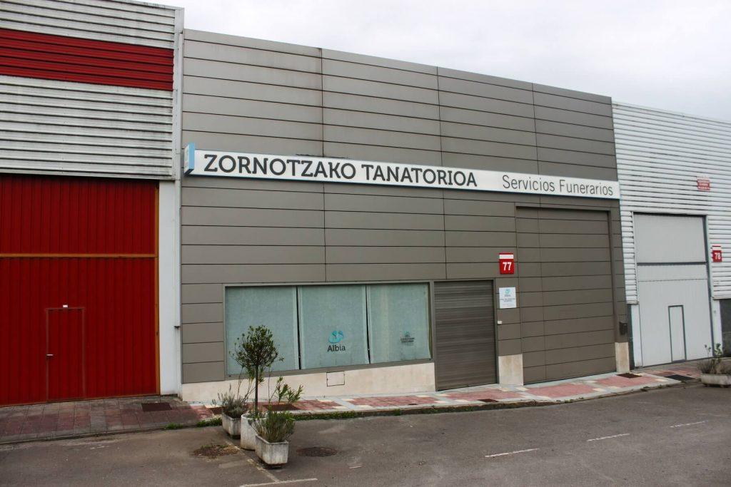 Zornotzako Tanatorioa (Albia Tanatorio en Amorebieta)